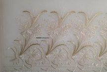 Whitework embroidery / #whitework # embroidery# ajour#
