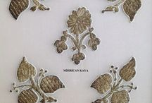 Antika el işleri (antique embroidery) / #ottoman embroidery#
