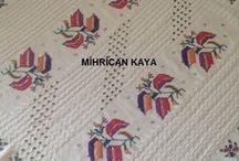 Hesap işi (Turkish embroidery) / Günümüzde işlenenler...