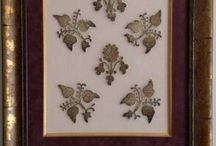 Nakış tabloları (Framed embroidery) / Çeşitli nakışlarla yapılan tablolar