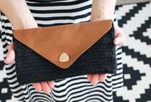 Crochet purses, bags