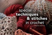 Crochet stitches, techniques, tips