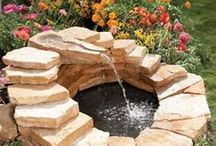 Water Garden & Patio Fountain Design