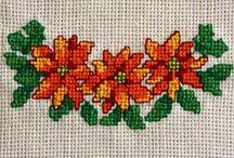 El nakışı desenleri (Embroidery pattern) / El nakışı