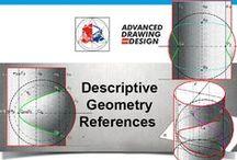 Descriptive Geometry References