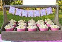 my party / movie night, snack bar, afternoon tea, decorations (fairy lights, balloons, bunting), messy twister,2 lolly guessing, fun!