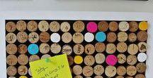ISPIRAZIONE- Tappi di sughero / Idee e progetti su come riutilizzare i tappi di sughero del vino o dello spumante