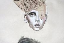 Illustration, Body Art and Art stuff