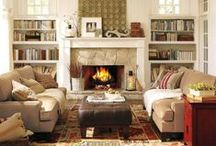 family room / by Leah Marie McEvoy