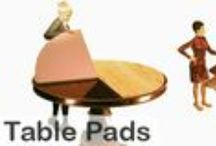 Custom Table Pad / Table Pads for Kitchen Tables, Dining Room Tables and Conference Tables