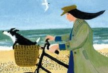By The Seaside / Paintings and prints featuring heart-warming British seaside scenes