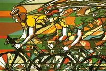 Bike Art Published By Green Pebble / Beautiful Images from Green Pebble's blank art card range that have a cycling theme