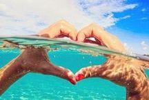 """Mar... Amar... / """"O mar quando quebra na praia é bonito, é bonito...""""  Já dizia o poeta. / by Constancia de Azevedo"""