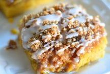 Pumpkin & Apple Recipes / Pumpkin and Apple Recipes.  There are desserts, drinks and breakfast foods listed.