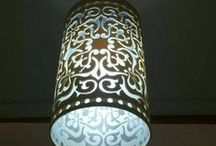 Arte Abajour Luminárias personalizadas / arte em pvc