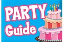 Party Providers / These companies come to you or have a party location