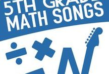 5th Grade Math Songs / Get excited about math again.  NUMBEROCK's math music has taken children's musical learning to a higher level.  These songs are radio-ready and your students will notice the difference.  Songs include topics like Coordinate Plane, Measuring Angles, Area Model Multiplication, Fractions and more!