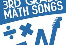 3rd Grade Math Songs / Math songs for students in 3rd Grade that drive engagement and enthusiasm in the classroom.