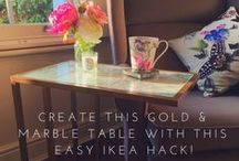 IKEA Hacks / This board includes IKEA furniture hacks that I have created, and IKEA hacks that I think are just amazing!