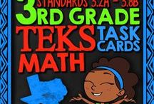 Texas Math TEKS Standards / Fun review activities to review TEKS math concepts with your students or to review for the STAAR test.