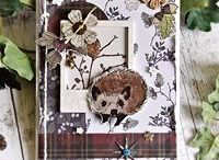 Winter Woodland Collection / A inspiration board bursting with ideas using the Winter Woodland Collection by Hackney & Co. brought to you by Craft Consortium.