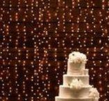 Decoração com luzes / Como usar luzes na decoração do casamento