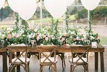 Balões na decoração / Como usar balões na decoração do casamento
