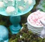 Chá de panela com decoração de Páscoa / Chá de panela com decoração de Páscoa