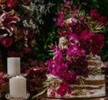 Casamento com decoração romântica / Casamento com decoração romântica