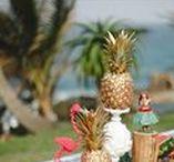 Chá de panela com decoração Havaí / Chá de panela tropical com decoração inspirada no Havaí