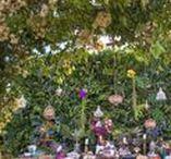 Mesa de doces para casamento / Lindas ideias de decoração de mesas de doces para casamento na praia, campo ou cidade