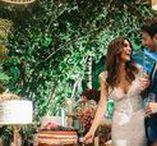 Casamento na Praia do Forte / Lindas fotos de um casamento animado e colorido na Praia do Forte