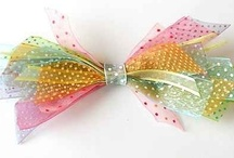 Hair Bows with Ribbon / by How to Make Bows