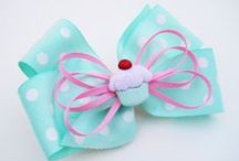 Share Your Bows / Do you make bows? Please feel free to share your cutest bows and hair clips here... Please leave a comment if you would like me to add your as a contributor...