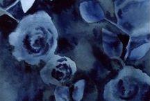 B - - u   n - - t  / I - - - - o / Couleur : Bleu-nuit ou indigo / by Edwige ♥︎ K