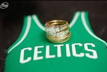 Wedding Theme - Boston Celtics Basketball / Boston Strong - Boston Sports - Boston Weddings Show your Boston Pride with a themed wedding. Celtics Basketball - Wedding Theme Ideas