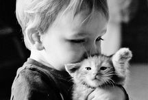 What is cute! / Babies, sweety and happines