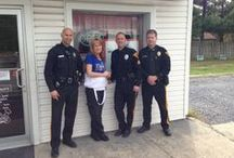 """ETPD """"Coffee with a Cop"""" Events / Evesham Township Police Community Policing Unit: Lt. Bruce Higbee higbeeb@eveshampd.org, or Sgt. Ronald Ritter at ritterr@eveshampd.org Main Number: 856-985-6033"""