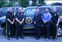"""Community Policing Vehicle / The Evesham Police Department would like to thank Elkin's Chevrolet of Marlton for donating a Chevrolet Tahoe to our department.  The stereo was installed by Officer Paulino Apistar with the assistance of Auto FX of Cherry Hill, Owner/resident Andy Szczurek and designer/installer Jason Schreyer.  The system consists of a Kenwood stereo, JBL components, 15"""" subwoofers, JBL/GTO Amplifiers, and wire from Monster Cable."""