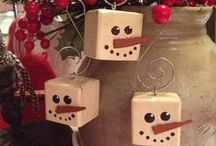 Wooden Christmas Ornaments / Our selection of wooden Christmas ornaments and ideas... / by How to Make Bows