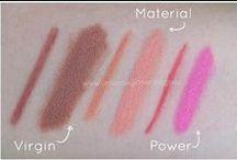 Swatches Neve Cosmetics / Immagini della resa make-up di Neve Cosmetics