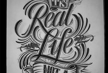 Drawing, Sketches, Typography, Art