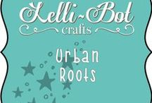 Urban Roots / April 2015's cool and trendy release from Lelli-Bot Crafts. Ideal for the funky teenager in your life who might be into music, games or skateboarding.