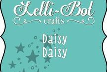 Daisy, Daisy / A fun, colourful and fresh collection from Lelli-Bot Crafts