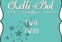 Twit Twoo / A bright and colourful fly-away collection from Lelli-Bot Crafts featuring kooky and quirky owls.