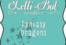 Fantasy Dragons / A fantastical dragon themed collection from Lelli-Bot Crafts. Inspired by the popular Game of Thrones series.
