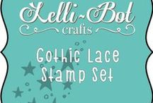 Gothic Lace Stamp Set