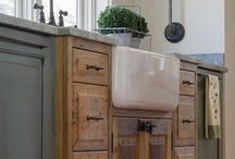 Wood counters