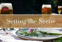 Setting the Scene / Tablescapes, music and decorative touches that will elevate your next event.
