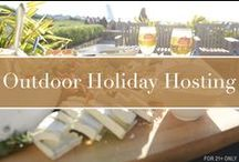 Outdoor Holiday Hosting